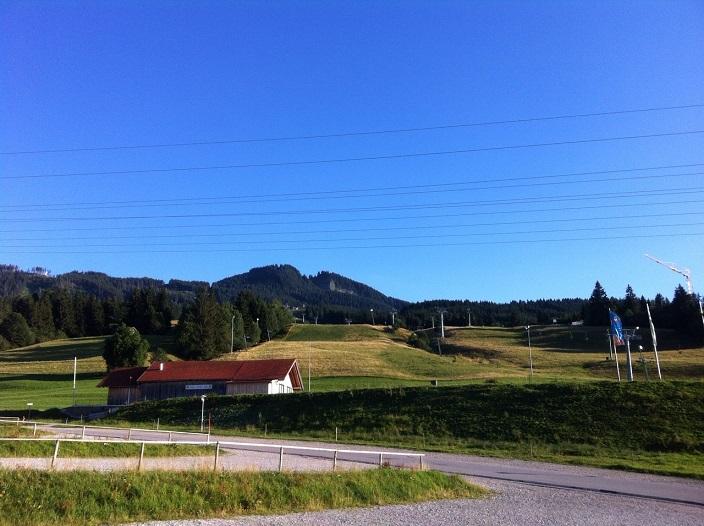 Blick Hausberg Alpspitz